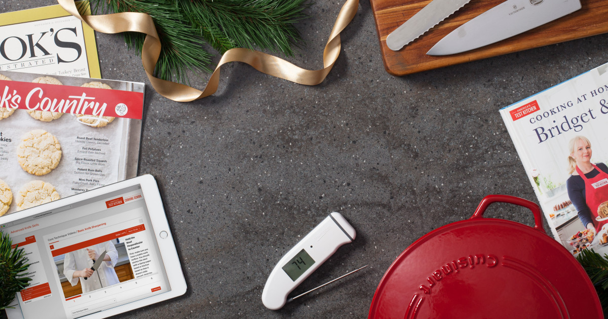 America's Test Kitchen Holiday Gift Guide