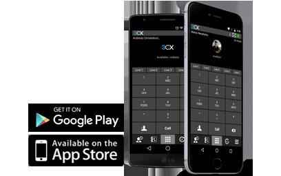 3CX telefonközpont mobil app