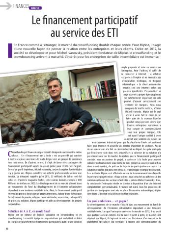 Article Revue Banque