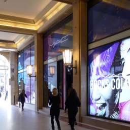 Vue de la galerie des Arcades