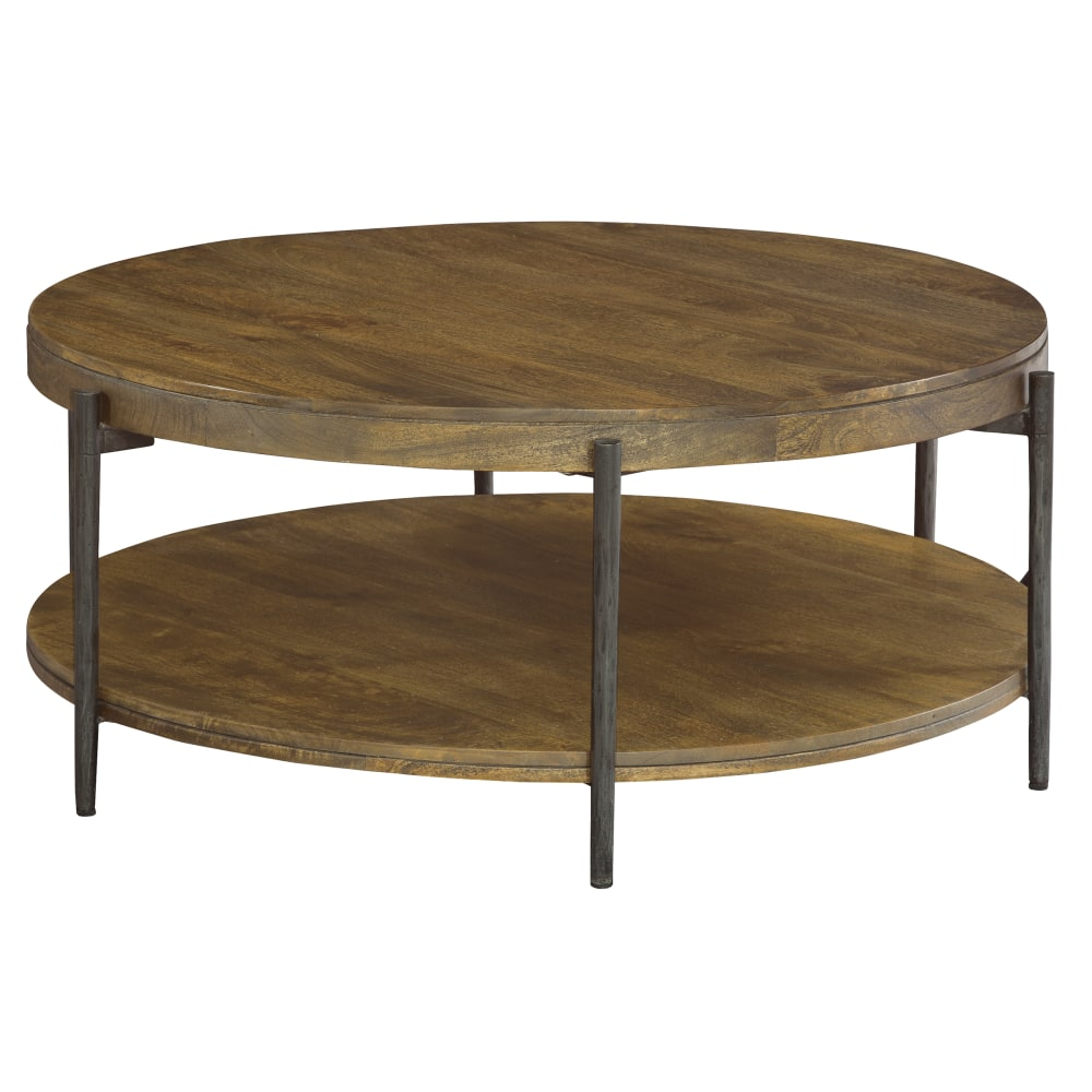 Image for 2-3702 Bedford Park Round Mango Coffee Table from Hekman Official Website