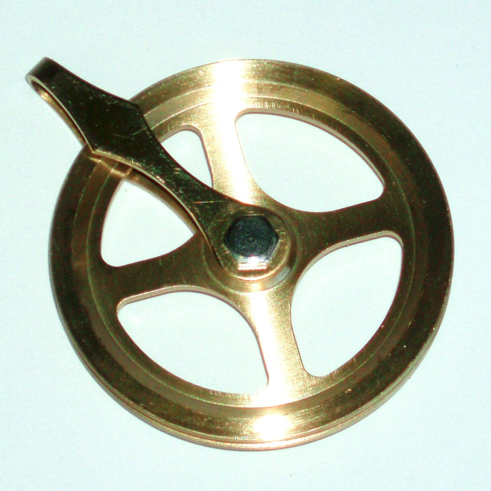 Image for Brass Cable Pulley, 354998 from Howard Miller Parts Store