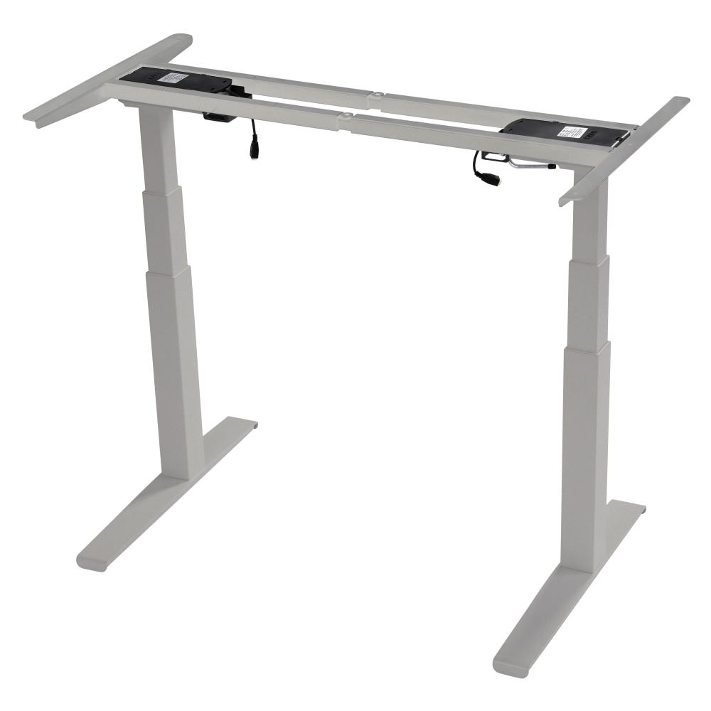 Image for SmartMoves® Frosted Silver Adjustable Height Base with Control Box and Keypad from SmartMoves Adjustable Height Desks Official Website