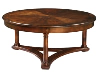 1-1101 Round Coffee Table,11101,Tables