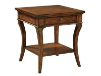 1-1104 Square End Table,11104,Tables