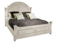 1-2265LN Homestead Louvered Queen Bed,12265ln,beds,queen beds,bedroom
