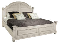 1-2266LN Homestead Louvered King Bed,12266ln,beds,king beds,bedroom