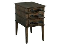 1-5105 Side Table with Bar Pulls,15105,tables,side tables,living room
