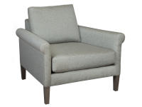 174240 Metro Rolled Arm Chair,174240,chairs,metro chairs,rolled arm chairs,living room