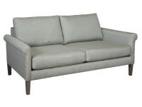 "174265 Metrol 65"" Rolled Arm Loveseat,174265,loveseats,metro loveseats,rolled arm loveseats,living room"