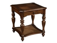2-3205 Vintage European Square End Table,23205,tables,end tables,square end tables