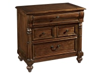 2-3264 Vintage European Three Drawer Night Stand,23264,stands,night stands,three drawer night stands