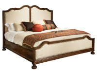 2-3269 Vintage European Upholstered King Bed,23269,beds,king beds,upholstered king beds