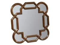 2-3273 Vintage European Square Lattice Mirror,23273,mirrors,square mirrors,lattice mirrors