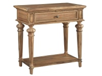 2-3364 Wellington Hall Single Drawer Night Stand,23364,stands,night stands,single drawer night stands,bedroom night stands