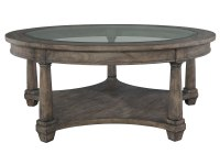 2-3502 Lincoln Park Round Coffee Table,23502,tables,coffee tables,round coffee tables,living room