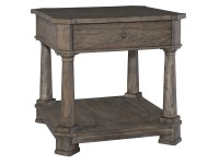 2-3503 Lincoln Park Drawer Lamp Table