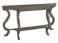 2-3508 Lincoln Park Sofa Table with Shaped Legs