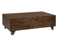 2-4300 Monterey Point Butchers Block Coffee Table