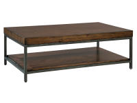 2-4301 Monterey Point Planked Top Rectangular Coffee Table