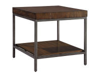 2-4303 Monterey Point Planked Top End Table
