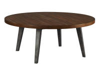 2-4305 Monterey Point Splayed Leg Round Coffee Table
