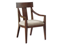 2-4322 Monterey Point Splat Back Arm Chair,24322,chairs,arm chairs,dining chairs,dining room