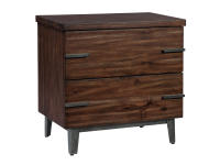 2-4362 Monterey Point Two Drawer Night Stand,24362,night stands,bedroom,chests