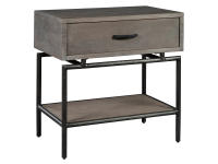 2-4563 Sedona Single Drawer Night Stand,24563,stands,night stands,single drawer night stands,bedroom