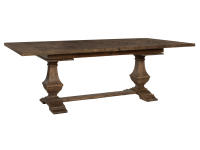 2-4820 Wexford Slab Top Trestle Dining Table,24820,tables,dining tables,dining room,slab top