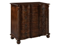 2-7104 Chateau Serpentine Chest,27104,chests