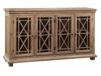 2-7299 Lattice Front Entertainment Console,27299,cosoles,entertainment consoles