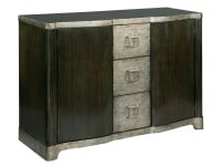 2-7444 Serpentine Door Chest W/Drawers,27444,chests,serpentine chests,door chests,drawer chests