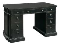 2-7482 Serpentine Kneehole Desk,27482,desks,serpentine kneehole desks