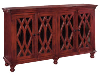 2-7573 Wooden 4-Door Sideboard,27573,sideboards