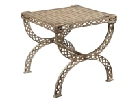 2-7585 Grate Top X-Bench/Side Table,27585,tables,benches,side tables,living room