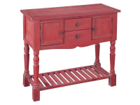 2-7682 Marketplace Red Lowboy,27682,lowboy,cabinets,marketplace