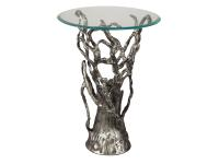 2-7756 Antique Nickel Branch Table,27756,tables,antique tables,living room,bedroom,office