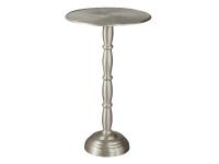 2-7763 Brushed Nickel Chairside Table,27763,tables,chairside tables,living room,office
