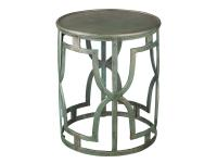 2-7766 Bronze Drum Table,27766,tables,drum tables,living room,chairside tables,office