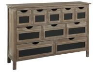 2-7786 Market Place Blackbard Drawer Cabinet,27786,cabinets,living room,bedroom