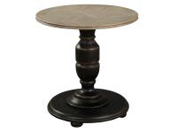 2-7843 Round Pedestal End Table,27843,tables,end tables,living room