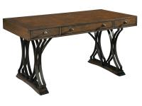 2-7845 Brass & Acacia Writing Desk,27845,desks,writing desks,office