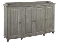 2-8025 Bow Front Storage Console,28025,consoles,living room