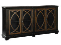 2-8026 Four Door Circle Lattice Entertainment Center,28026,centers,entertainment centers,living room,tv