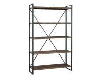 2-8055 office@home Pittsburgh Industrial Open Shelving,28055,shelves,shelving,open shelving,office,bookcases