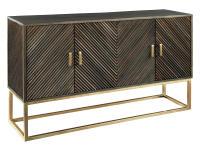 2-8085 Chevron Door Cabinet,28085,cabinets,door cabinets,living room