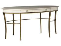 2-8164 Writing Desk-Gold Accents,28164,desks,writing desks,office