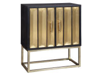 2-8300 Brass Door Cabinet,28300,cabinets,door cabinets,living room