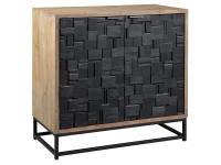 2-8341 Scrap Parquet Door Cabinet,28341,cabinets,door cabinets,living room